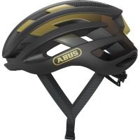Abus AirBreaker Kask rowerowy szosowy black gold