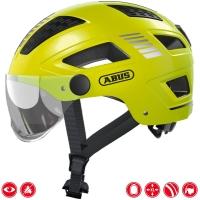 Abus Hyban 2.0 Ace Kask rowerowy miejski Signal yellow