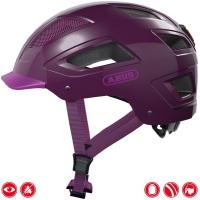 Abus Hyban 2.0 Kask rowerowy miejski Core purple