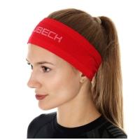 Brubeck 3D PRO Opaska unisex czerwona