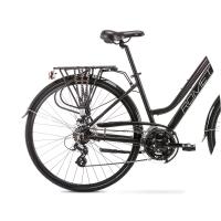Romet Gazela 2 Rower trekkingowy 28 czarno-różowy 2020