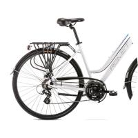 Romet Gazela 2 Rower trekkingowy 28 biało-niebieski 2020