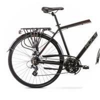 Romet Wagant 2 Rower trekkingowy 28 czarno-czerwony 2020