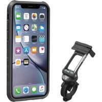 Topeak RideCase Pokrowiec na iPhone XR czarno szary
