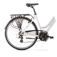 Romet Gazela 1 Rower trekkingowy 28 biało-różowy 2020