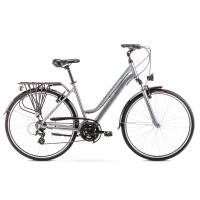 Romet Gazela 1 Rower trekkingowy 28 srebrno-zielony 2020
