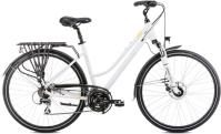 Romet Gazela 4 Rower trekkingowy 28 biało-czarny 2020