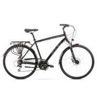 Romet Wagant 4 Rower trekkingowy 28 czarno-biały 2020