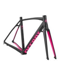 Accent Piuma Rama rowerowa szosowa damska czarno różowa