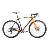 Romet Boreas 1 Rower Gravelowy 28 pomarańczowy