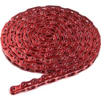 Dartmoor Core Light Łańcuch 1 rzędowy 102 ogniwa czerwony + spinka