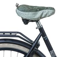 Basil Boheme Pokrowiec na siodełko rowerowe zielony