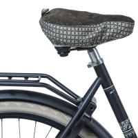 Basil Boheme Pokrowiec na siodełko rowerowe szary
