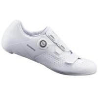 Shimano SH RC500 RC5 Boa L6 Buty rowerowe szosowe SPD SL białe