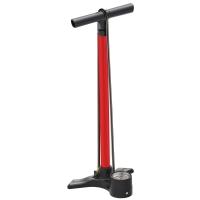 Lezyne Macro Floor Drive ABS Pompka podłogowa 220psi czerwona