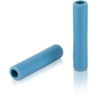 XLC GR S31 Chwyty rowerowe silikonowe 130mm niebieskie