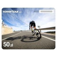 e-karta podarunkowa z wizerunkiem roweru szosowego