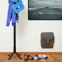 Racktime Hangit uchwyt ścienny do torby rowerowej