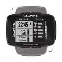 Lezyne Macro Plus GPS Smart Loaded Licznik rowerowy + lampka