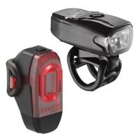 Lezyne LED KTV Drive Zestaw lampek 200lm USB aku V404