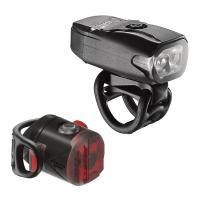 Lezyne LED KTV Drive Zestaw lampek 200lm USB aku V504
