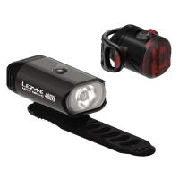 Lezyne Mini Drive Zestaw lampek 400lm USB aku V304