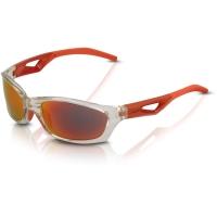 XLC SG C14 Saint Denise okulary sportowe czerwono szare