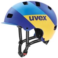Uvex HLMT 5 Bike Pro Kask blue energy mat
