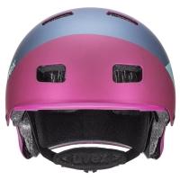 Uvex HLMT 5 Bike Pro Kask berry mat