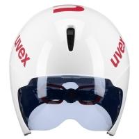 Uvex Race 8 Kask czasowy white red