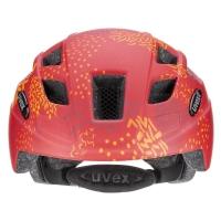 Uvex Finale Junior CC Kask dziecięcy red orange mat