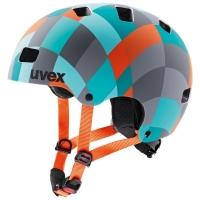 Uvex Kid 3 CC Kask dziecięcy green checkered mat