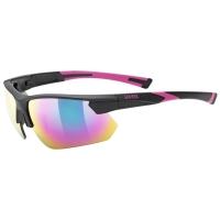 Uvex Sportstyle 221 Okulary sportowe black pink