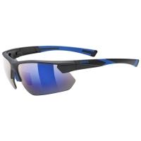 Uvex Sportstyle 221 Okulary sportowe black blue mat