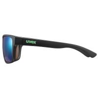 Uvex LGL 36 Colorvision Okulary przeciwsłoneczne black mat