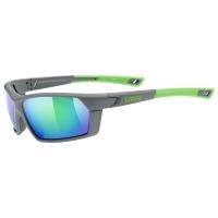 Uvex Sportstyle 225 Okulary sportowe grey green mat