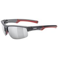 Uvex Sportstyle 226 Okulary sportowe grey red mat