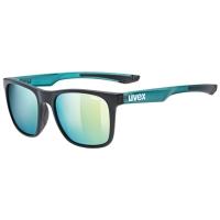 Uvex LGL 42 Okulary przeciwsłoneczne black green mat