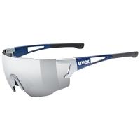 Uvex Sportstyle 804 Okulary sportowe silver blue metallic