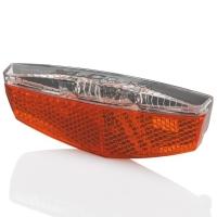 XLC CL R17 Lampka rowerowa tylna LED dynamo na bagażnik