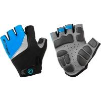 Accent Effect Rękawiczki damskie czarno niebieskie