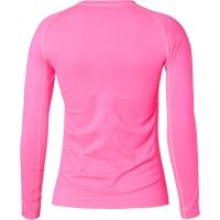 Accent Elene Koszulka termoaktywna damska długi rękaw różowa fluo
