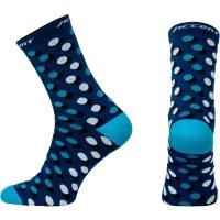 Accent Dots Long Skarpetki niebieskie