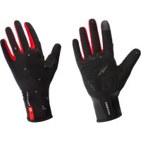 Accent Blade Rękawiczki z długimi palcami czarno czerwone