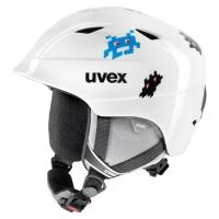 Uvex Airwing II Dziecięcy kask narciarski snowboard white pacman