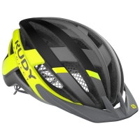 Rudy Project Venger Cross Kask szosowy MTB titanium yellow
