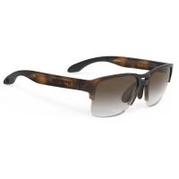 Rudy Project Spinair 58 RP Optics Okulary sportowe brązowe