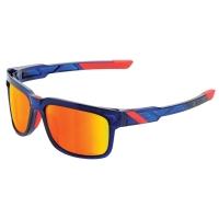 100% Type-S Okulary sportowe anthem mirror red