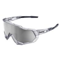 100% Speedtrap Okulary sportowe crystal grey mirror silver