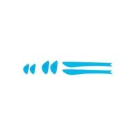 Rudy Project Spinair Zestaw do kastomizacji blue